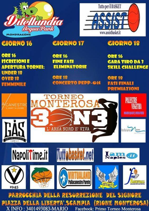 Cantro wind a napoli mergellina 80122 : torneo monterosa