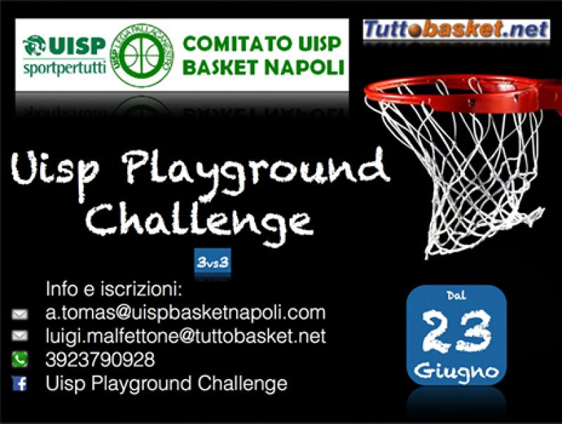 MATERIALE PER IL BASKET A NAPOLI : Uisp Playground Challenge