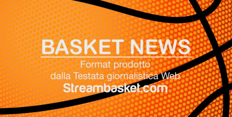 NUOVO numero di BASKET NEWS, Rotocalco settimanale di pallacanestro