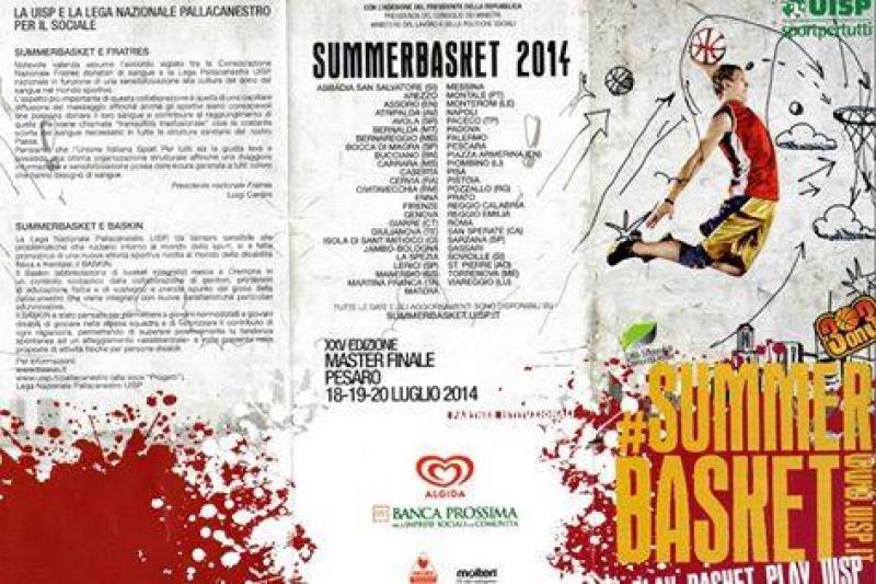 Tabellone segnapunti portatile : SUMMERBASKET 2014