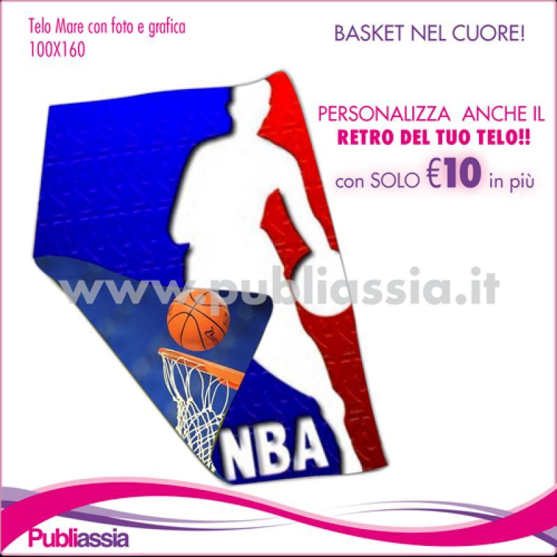 TELO MARE CON FOTO BASKET NBA
