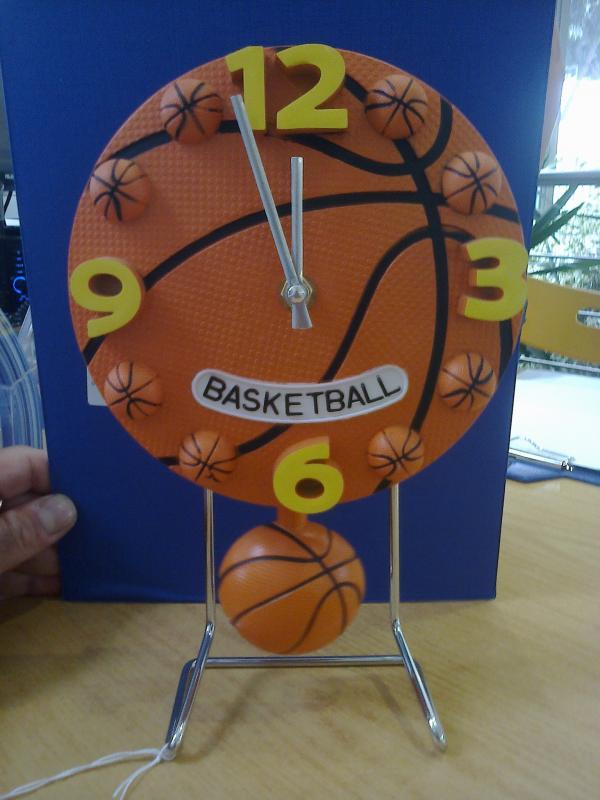Bomboniera orologgio pallone da basket