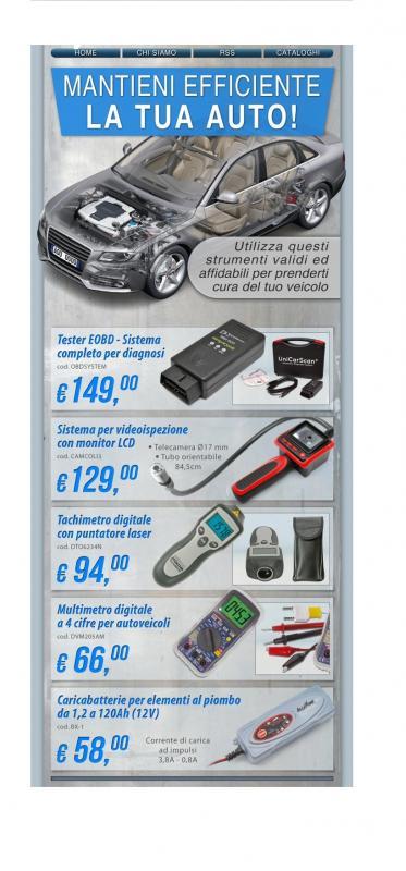 kit per macchina