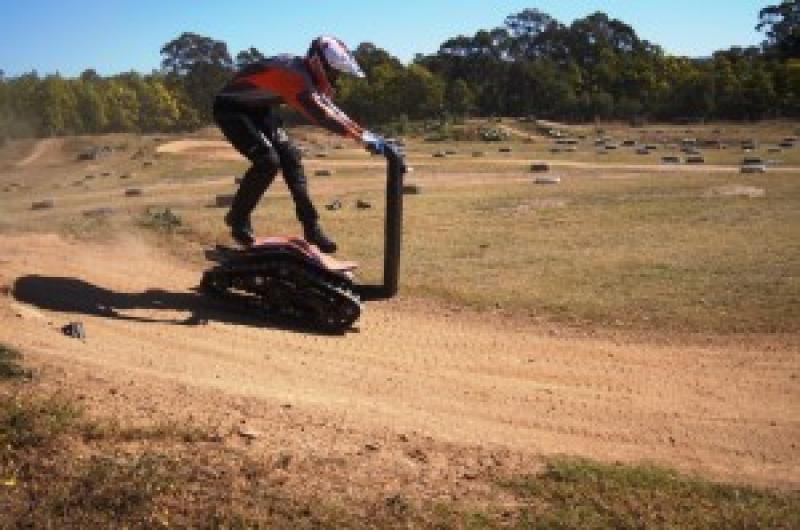 DTV Shredder: un nuovo veicolo per sport estremi  Read more:…