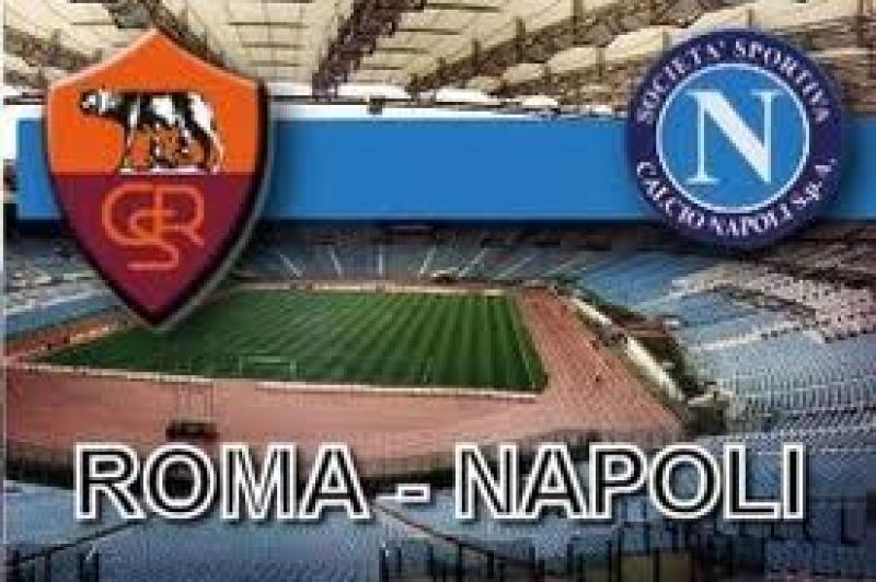 Roma-Napoli da sogno, tutto il bello è all'Olimpico