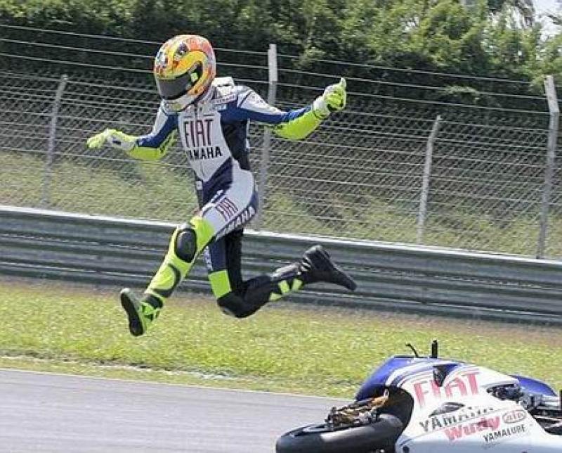 Moto: Rossi, Marquez? Non ho visto